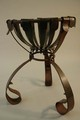 Leather Inspired Brazier